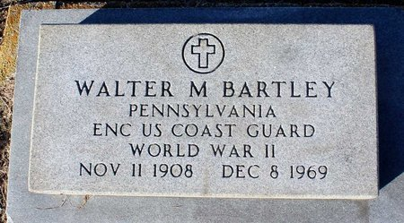 BARTLEY, WALTER M. - Norfolk (City of) County, Virginia | WALTER M. BARTLEY - Virginia Gravestone Photos