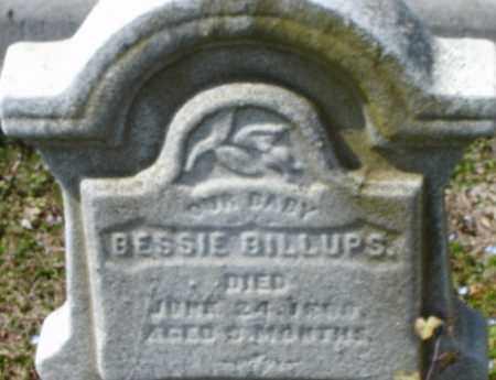 BILLUPS, BESSIE - Norfolk (City of) County, Virginia   BESSIE BILLUPS - Virginia Gravestone Photos