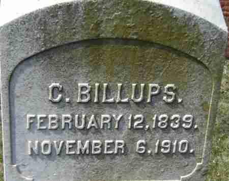BILLUPS, C - Norfolk (City of) County, Virginia | C BILLUPS - Virginia Gravestone Photos