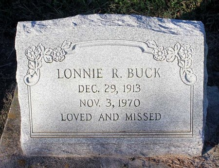 BUCK, LONNIE R. - Norfolk (City of) County, Virginia | LONNIE R. BUCK - Virginia Gravestone Photos