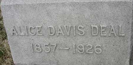 DEAL, ALICE DAVIS - Norfolk (City of) County, Virginia | ALICE DAVIS DEAL - Virginia Gravestone Photos
