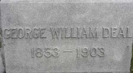DEAL, GEORGE WILLIAM - Norfolk (City of) County, Virginia | GEORGE WILLIAM DEAL - Virginia Gravestone Photos