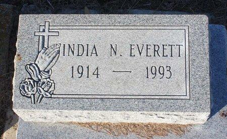 EVERETT, INDIA N. - Norfolk (City of) County, Virginia | INDIA N. EVERETT - Virginia Gravestone Photos