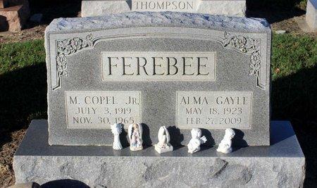 FEREBEE, ALMA GAYLE - Norfolk (City of) County, Virginia | ALMA GAYLE FEREBEE - Virginia Gravestone Photos