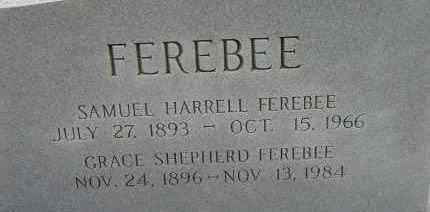 FEREBEE, SAMUEL HARRELL - Norfolk (City of) County, Virginia | SAMUEL HARRELL FEREBEE - Virginia Gravestone Photos