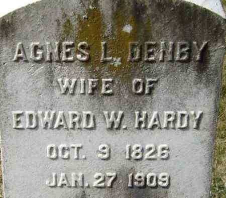 HARDY, AGNES L - Norfolk (City of) County, Virginia | AGNES L HARDY - Virginia Gravestone Photos