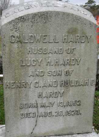 HARDY, CALDWELL - Norfolk (City of) County, Virginia | CALDWELL HARDY - Virginia Gravestone Photos
