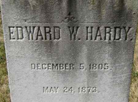 HARDY, EDWARD W - Norfolk (City of) County, Virginia | EDWARD W HARDY - Virginia Gravestone Photos