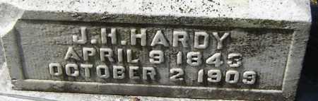 HARDY, J H - Norfolk (City of) County, Virginia | J H HARDY - Virginia Gravestone Photos