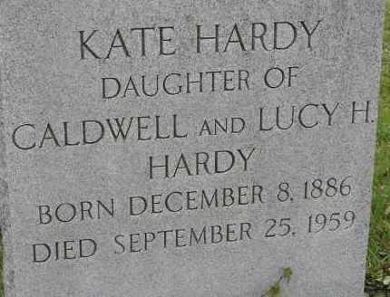 HARDY, KATE - Norfolk (City of) County, Virginia | KATE HARDY - Virginia Gravestone Photos