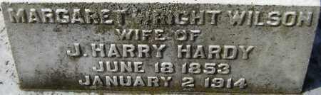HARDY, MARGARET WRIGHT WILSON - Norfolk (City of) County, Virginia | MARGARET WRIGHT WILSON HARDY - Virginia Gravestone Photos