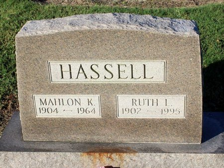 HASSELL, MAHLON K. - Norfolk (City of) County, Virginia | MAHLON K. HASSELL - Virginia Gravestone Photos