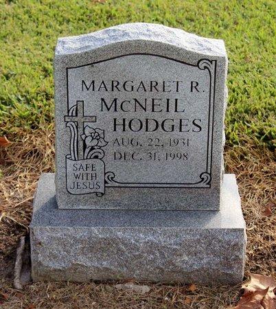 MCNEIL HODGES, MARGARET R. - Norfolk (City of) County, Virginia | MARGARET R. MCNEIL HODGES - Virginia Gravestone Photos