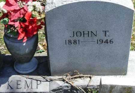 KEMP, JOHN T - Norfolk (City of) County, Virginia | JOHN T KEMP - Virginia Gravestone Photos
