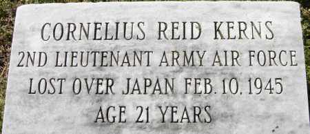 KERNS, CORNELIUS REID - Norfolk (City of) County, Virginia | CORNELIUS REID KERNS - Virginia Gravestone Photos