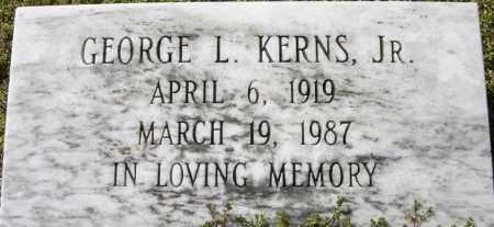 KERNS, GEORGE L - Norfolk (City of) County, Virginia | GEORGE L KERNS - Virginia Gravestone Photos