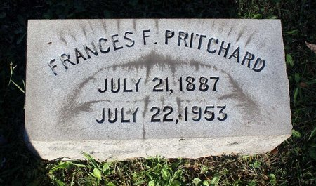 PRITCHARD, FRANCES F. - Norfolk (City of) County, Virginia | FRANCES F. PRITCHARD - Virginia Gravestone Photos