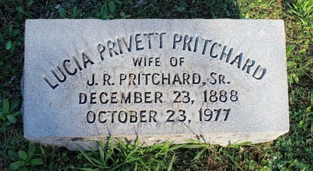PRITCHARD, LUCIA - Norfolk (City of) County, Virginia | LUCIA PRITCHARD - Virginia Gravestone Photos