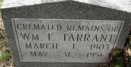 TARRANT, WM F - Norfolk (City of) County, Virginia | WM F TARRANT - Virginia Gravestone Photos