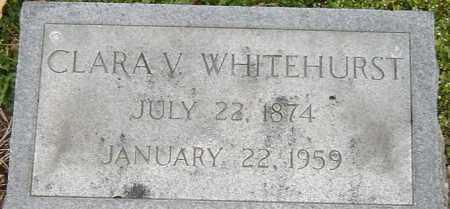 WHITEHURST, CLARA V - Norfolk (City of) County, Virginia | CLARA V WHITEHURST - Virginia Gravestone Photos