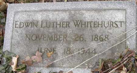 WHITEHURST, EDWIN LUTHER - Norfolk (City of) County, Virginia | EDWIN LUTHER WHITEHURST - Virginia Gravestone Photos