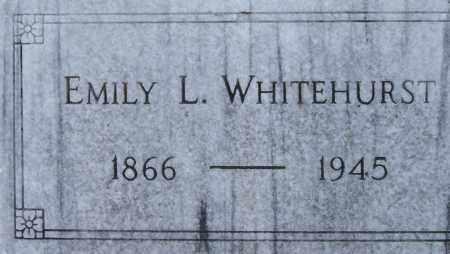 WHITEHURST, EMILY L - Norfolk (City of) County, Virginia   EMILY L WHITEHURST - Virginia Gravestone Photos