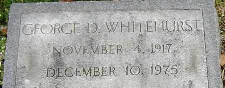 WHITEHURST, GEORGE D - Norfolk (City of) County, Virginia | GEORGE D WHITEHURST - Virginia Gravestone Photos
