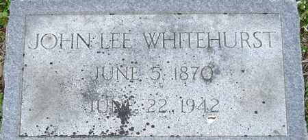 WHITEHURST, JOHN LEE - Norfolk (City of) County, Virginia | JOHN LEE WHITEHURST - Virginia Gravestone Photos