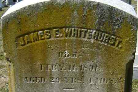 WHITEHURST, JAMES E - Norfolk (City of) County, Virginia | JAMES E WHITEHURST - Virginia Gravestone Photos