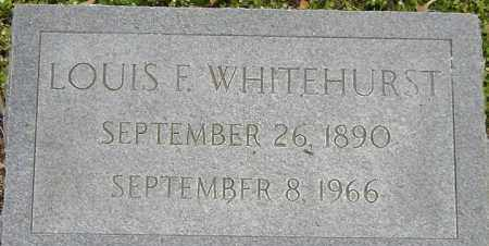 WHITEHURST, LOUIS F - Norfolk (City of) County, Virginia | LOUIS F WHITEHURST - Virginia Gravestone Photos