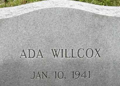 WILLCOX, ADA - Norfolk (City of) County, Virginia | ADA WILLCOX - Virginia Gravestone Photos