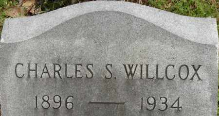 WILLCOX, CHARLES S - Norfolk (City of) County, Virginia | CHARLES S WILLCOX - Virginia Gravestone Photos