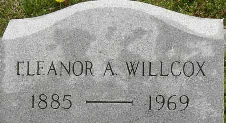 WILLCOX, ELEANOR A - Norfolk (City of) County, Virginia | ELEANOR A WILLCOX - Virginia Gravestone Photos