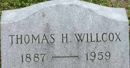 WILLCOX, THOMAS H - Norfolk (City of) County, Virginia | THOMAS H WILLCOX - Virginia Gravestone Photos