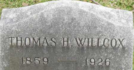 WILLCOX, THOMAS H - Norfolk (City of) County, Virginia | THOMAS H WILLCOX - Virginia Gravestone Photos