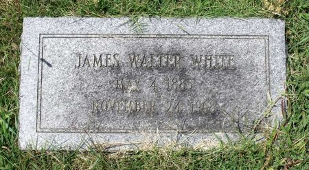 WHITE, JAMES WALTER - Petersburg (City of) County, Virginia | JAMES WALTER WHITE - Virginia Gravestone Photos