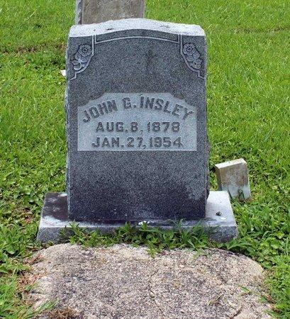 INSLEY, JOHN G. - Poquoson (City of) County, Virginia | JOHN G. INSLEY - Virginia Gravestone Photos