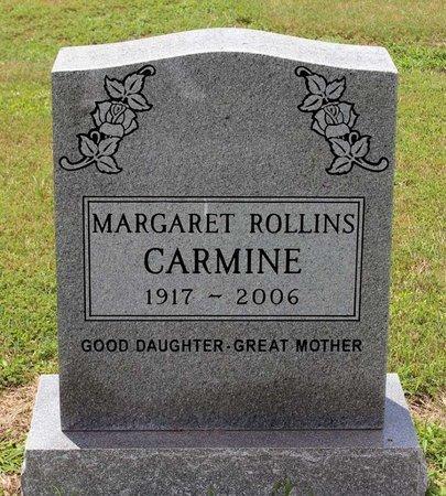 CARMINE, MARGARET - Poquoson (City of) County, Virginia | MARGARET CARMINE - Virginia Gravestone Photos