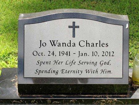 CHARLES, JO WANDO - Poquoson (City of) County, Virginia | JO WANDO CHARLES - Virginia Gravestone Photos