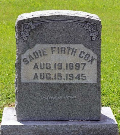 COX, SADIE - Poquoson (City of) County, Virginia | SADIE COX - Virginia Gravestone Photos