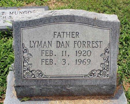 FORREST, LYMAN DAN - Poquoson (City of) County, Virginia   LYMAN DAN FORREST - Virginia Gravestone Photos