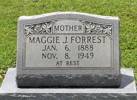 FORREST, MAGGIE J. - Poquoson (City of) County, Virginia | MAGGIE J. FORREST - Virginia Gravestone Photos