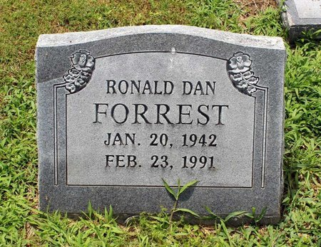 FORREST, RONALD DAN - Poquoson (City of) County, Virginia | RONALD DAN FORREST - Virginia Gravestone Photos