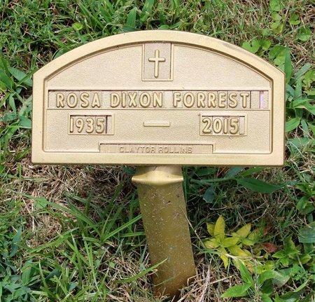 DIXON FORREST, ROSA - Poquoson (City of) County, Virginia | ROSA DIXON FORREST - Virginia Gravestone Photos