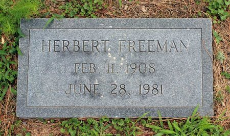 FREEMAN, HERBERT - Poquoson (City of) County, Virginia   HERBERT FREEMAN - Virginia Gravestone Photos