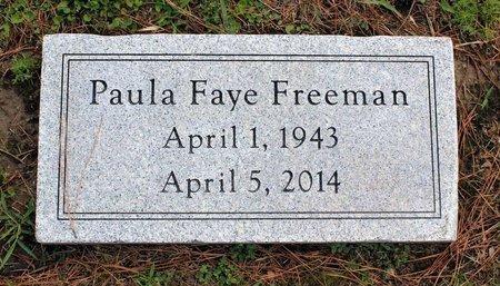 FREEMAN, PAULA FAYE - Poquoson (City of) County, Virginia | PAULA FAYE FREEMAN - Virginia Gravestone Photos