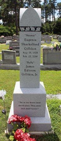 SHACKELFORD GILLIKIN, EUGENIA - Poquoson (City of) County, Virginia | EUGENIA SHACKELFORD GILLIKIN - Virginia Gravestone Photos