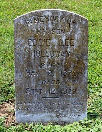 HOLLOWAY, EDDIE LEE - Poquoson (City of) County, Virginia | EDDIE LEE HOLLOWAY - Virginia Gravestone Photos