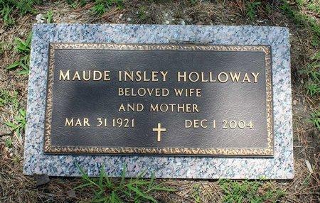 INSLEY HOLLOWAY, MAUDE - Poquoson (City of) County, Virginia | MAUDE INSLEY HOLLOWAY - Virginia Gravestone Photos