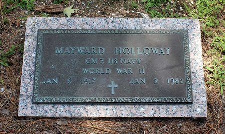 HOLLOWAY, MAYWARD - Poquoson (City of) County, Virginia | MAYWARD HOLLOWAY - Virginia Gravestone Photos